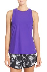 Under Armour Women's 'Coolswitch' Heatgear Running Tank Deep Orchid