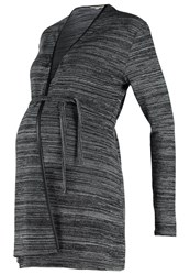 Noppies Nina Cardigan Black Mottled Dark Grey