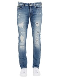 Calvin Klein Jeans 17Cm Slim Fit Distressed Denim