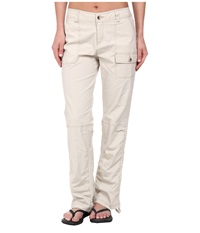 Woolrich Laurel Run Convertible Pant Stone Women's Casual Pants White