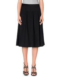 Orion London Skirts 3 4 Length Skirts Women Black