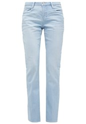 M A C Mac Dream Bootcut Jeans Super Light Blue