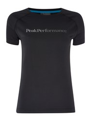 Peak Performance Gallos Short Sleeve Tee Black