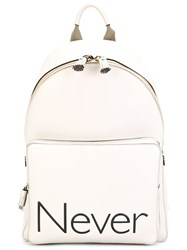 Anya Hindmarch 'Never' Backpack Nude And Neutrals