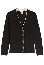 Burberry Brit Wool Cardigan Black