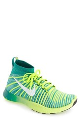 Nike Men's 'Free Train Force Flyknit' Training Shoe Teal White Turquoise