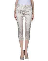 Gaudi' Trousers 3 4 Length Trousers Women Beige