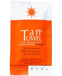 Receive A Free Half Body Plus Towelette With Tantowel Purchase