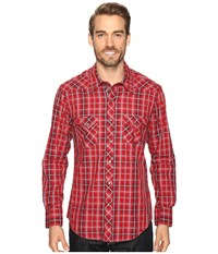 Rock And Roll Cowboy Long Sleeve Snap B2s8402 Red Men's Clothing