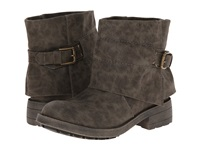 Torino Olive Aviator Canvas Women's Boots Pewter