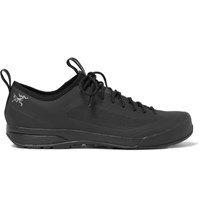 Arc'teryx Acrux Sl Approach Mesh And Rubber Sneakers Black
