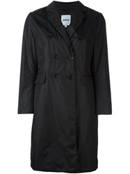Aspesi Double Breasted Flap Pockets Coat Black