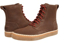 Braun Grizzly Suede Men's Lace Up Casual Shoes Tan