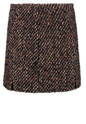 Patrizia Pepe Mini Skirt Braun Brown