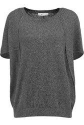 Milly Cashmere Sweater Gray