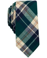 Bar Iii Men's Osage Plaid Tie Only At Macy's Green