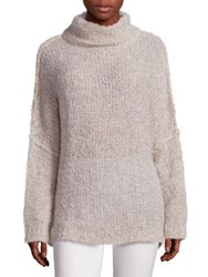 Free People She's All That Turtleneck Sweater Ivory