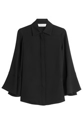 Valentino Silk Blouse Black
