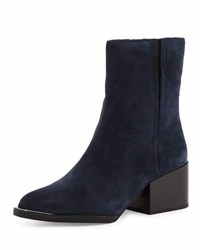 Sam Edelman Circus Raylan Suede Bootie Inky Navy