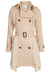 Victor Trench Coat By Jovonna Beige