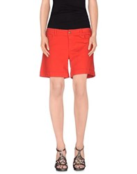 Armani Jeans Denim Denim Shorts Women Red