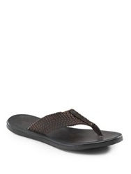 To Boot Thong Sandals Brown