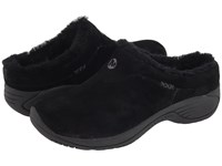 Merrell Encore Ice Black Suede Leather Women's Clog Shoes