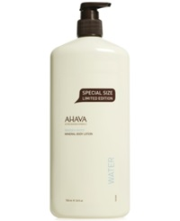 Ahava Mineral Body Lotion Special Size Limited Edition 24 Oz