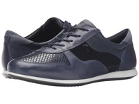 Ecco Touch Sneaker Tie Marine Marine Women's Lace Up Casual Shoes Navy