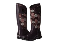 Bogs North Hampton Pom Pons Plum Multi Women's Waterproof Boots