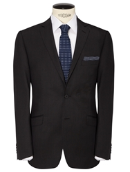 Daniel Hechter Pindot Suit Jacket Dark Charcoal