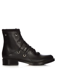Proenza Schouler Lace Up Leather Military Boots