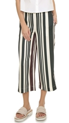 O'2nd Multi Stripe Pants Burgundy