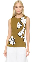 Cedric Charlier Sequin Sleeveless Top Multi