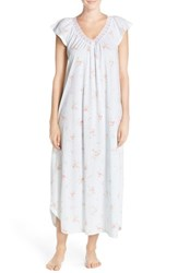 Women's Midnight By Carole Hochman Floral Cotton Nightgown