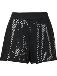 Moschino Sequined Shorts Black