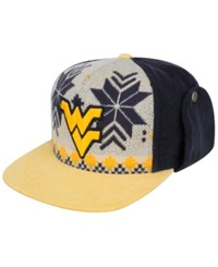 Top Of The World West Virginia Mountaineers Christmas Sweater Strapback Cap