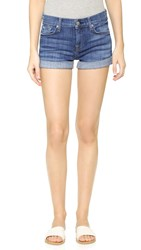 7 For All Mankind Roll Up Shorts Athens Broken Twill