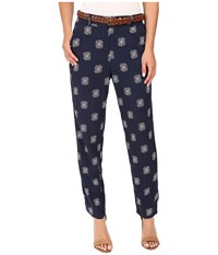 Splendid Larkspur Conversational Pants Navy Women's Casual Pants