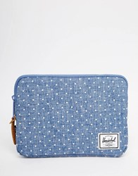 Herschel Supply Co Anchor Sleeve For Ipad Mini Blue