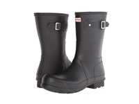 Hunter Original Short Black Men's Rain Boots