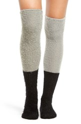 Free People Women's Grand Rapids Over The Knee Socks Black