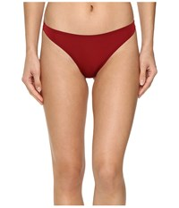 Free People Smooth Thong Cranberry Women's Underwear Red