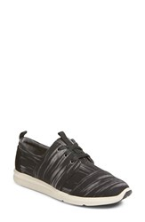 Toms Women's 'Del Rey' Sneaker Black Brush
