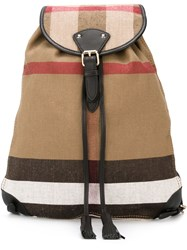 Burberry 'Md Chiltern' Backpack Multicolour