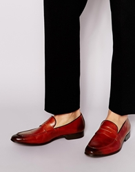 Dune Leather Loafers Tan