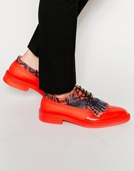Vivienne Westwood Brogue Shoes Red