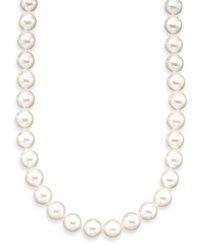 Belle De Mer Pearl Necklace 18' 14K Gold A Akoya Cultured Pearl Strand 6 6 1 2Mm