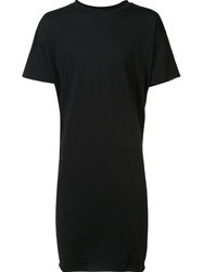 Barbara I Gongini Loose Long T Shirt Black