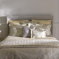 Yves Delorme Vegetal Honey Duvet Cover King
